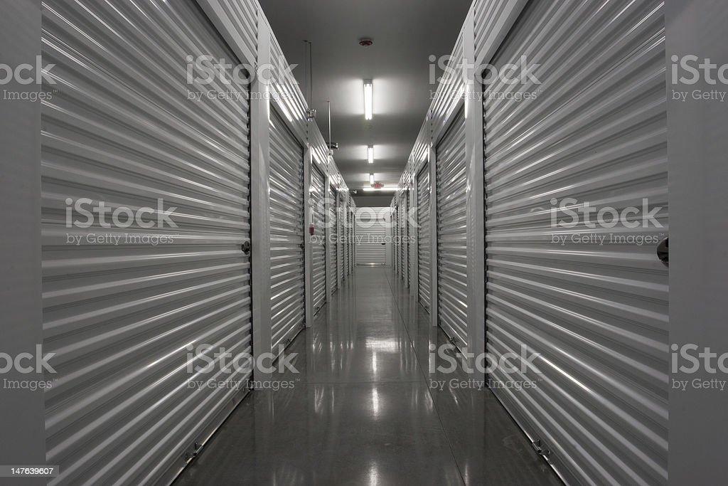 Self Storage Units stock photo