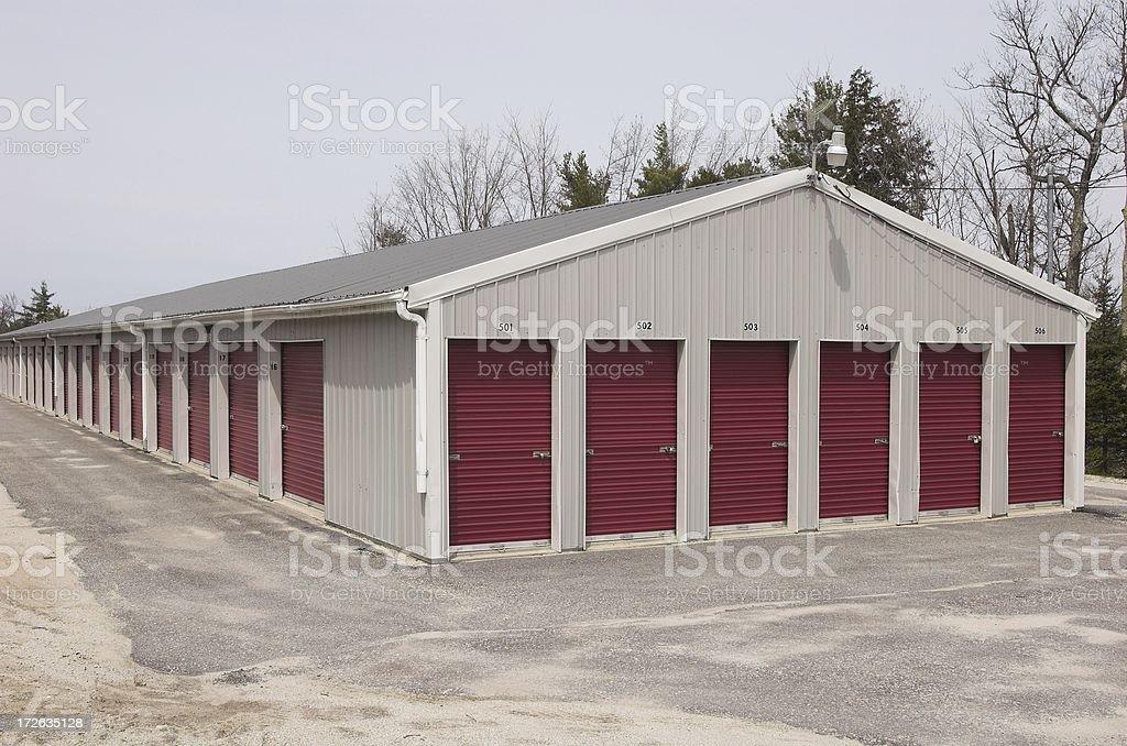 self storage units royalty-free stock photo