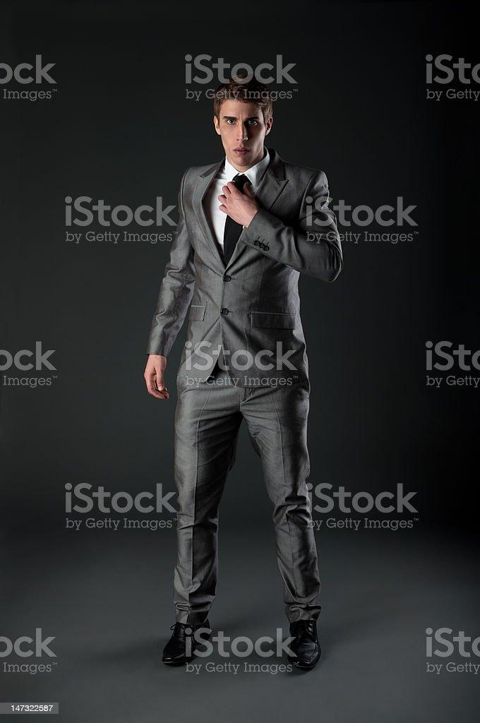 Self-confident man royalty-free stock photo