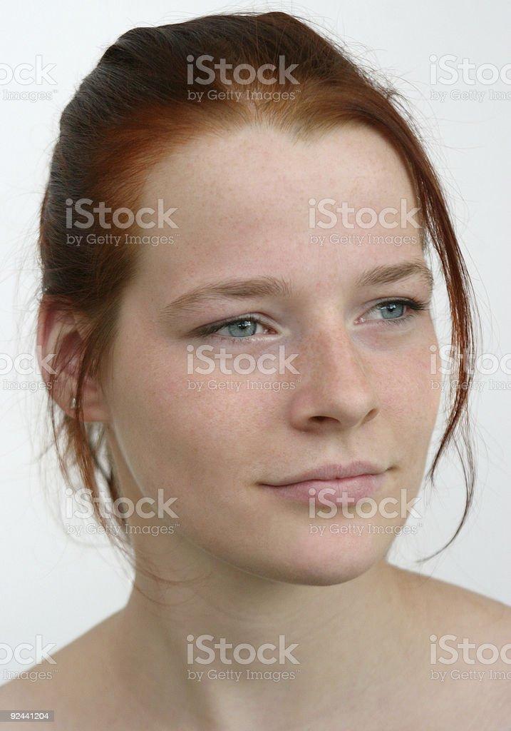 Self-confident stock photo