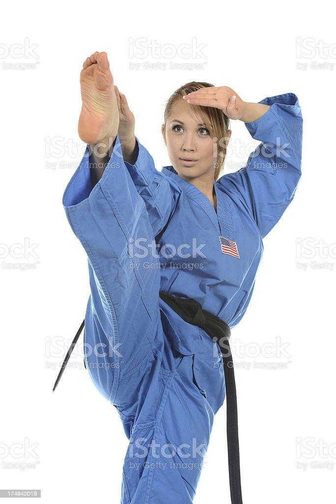 Self-Defense Balance royalty-free stock photo