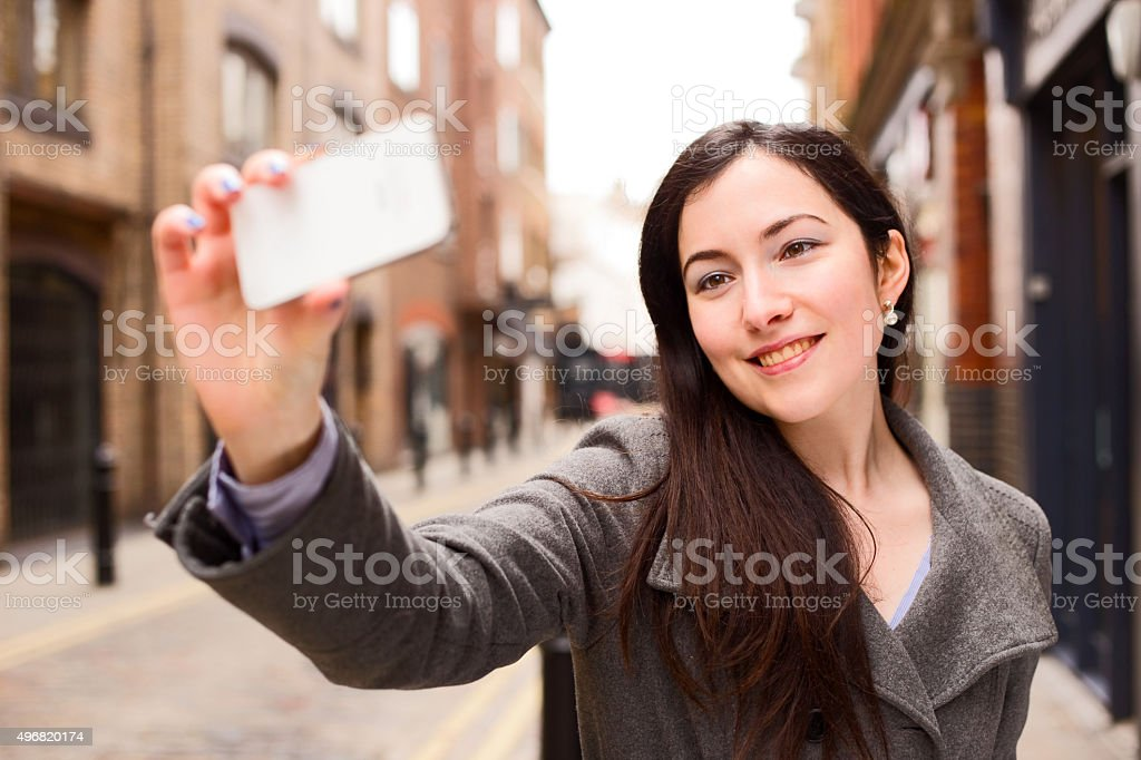 selfie royalty-free stock photo