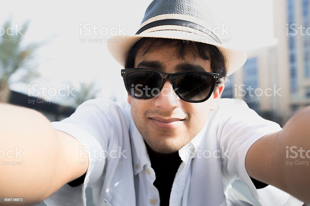Selfie Time! stock photo