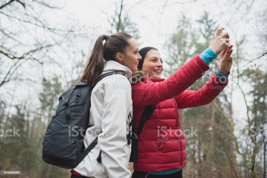 Selfies always stock photo