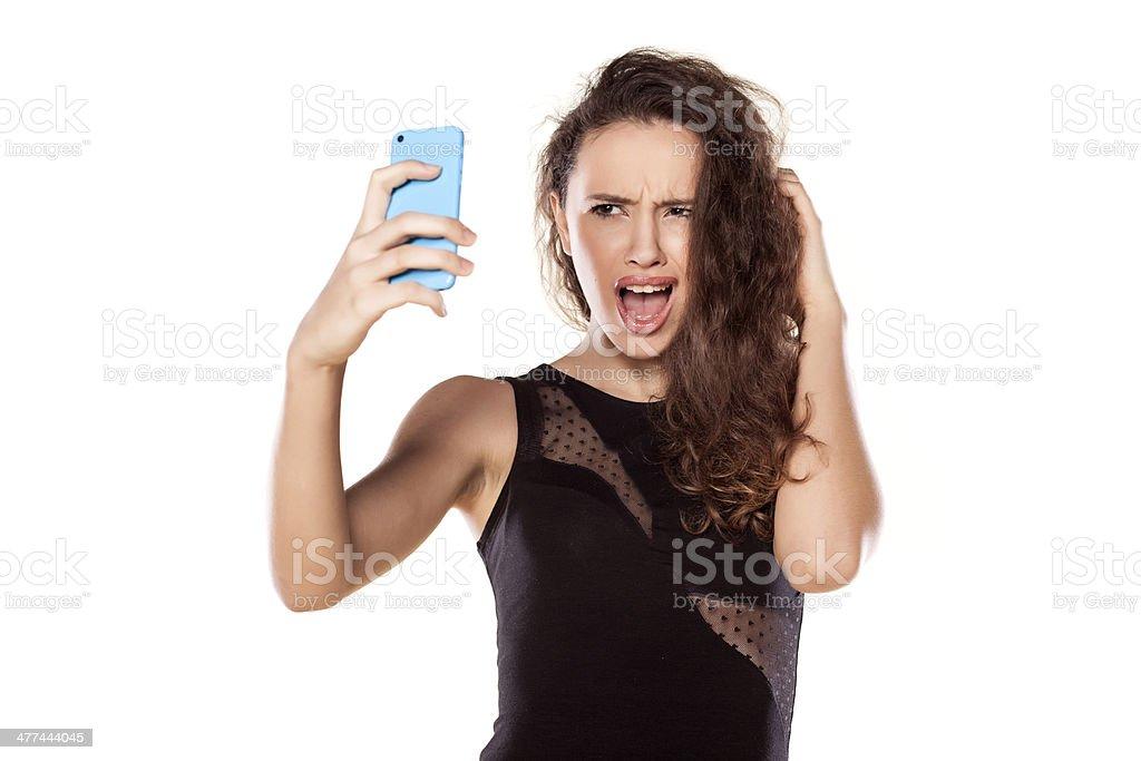selfies stock photo
