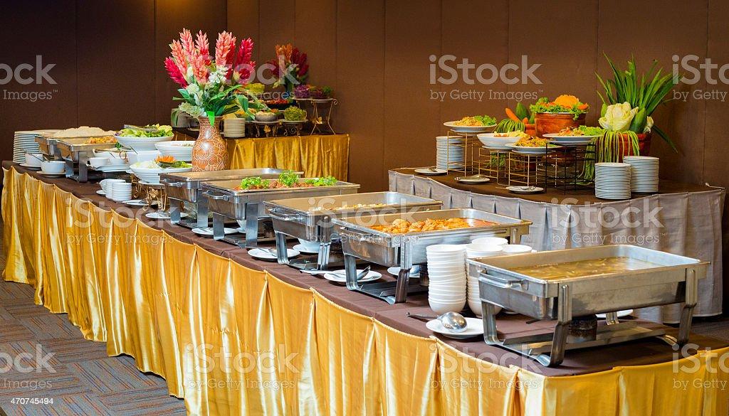 Self-service restaurant stock photo