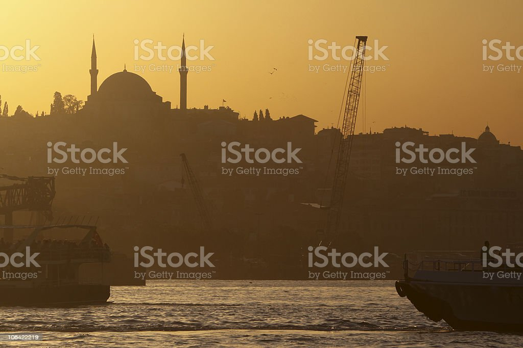 Selim I Mosque in Istanbul, Turkey stock photo