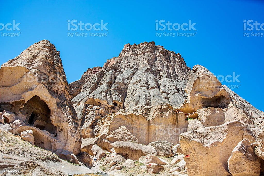 selime cathedral,(cappadocia,Turkey) stock photo