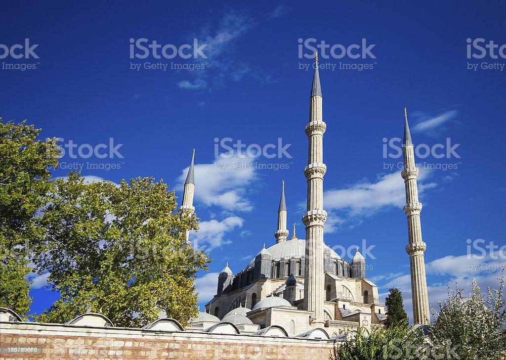 Selimiye Mosque / Edirne / Turkey royalty-free stock photo