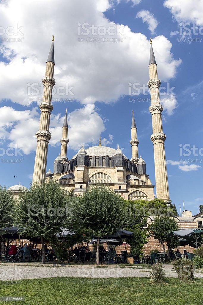 Selimiye Mosque in Edirne, Turkey royalty-free stock photo