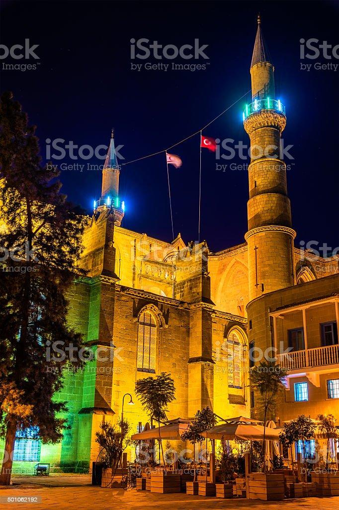 Selimiye Mosque in Nicosia - Northern Cyprus stock photo