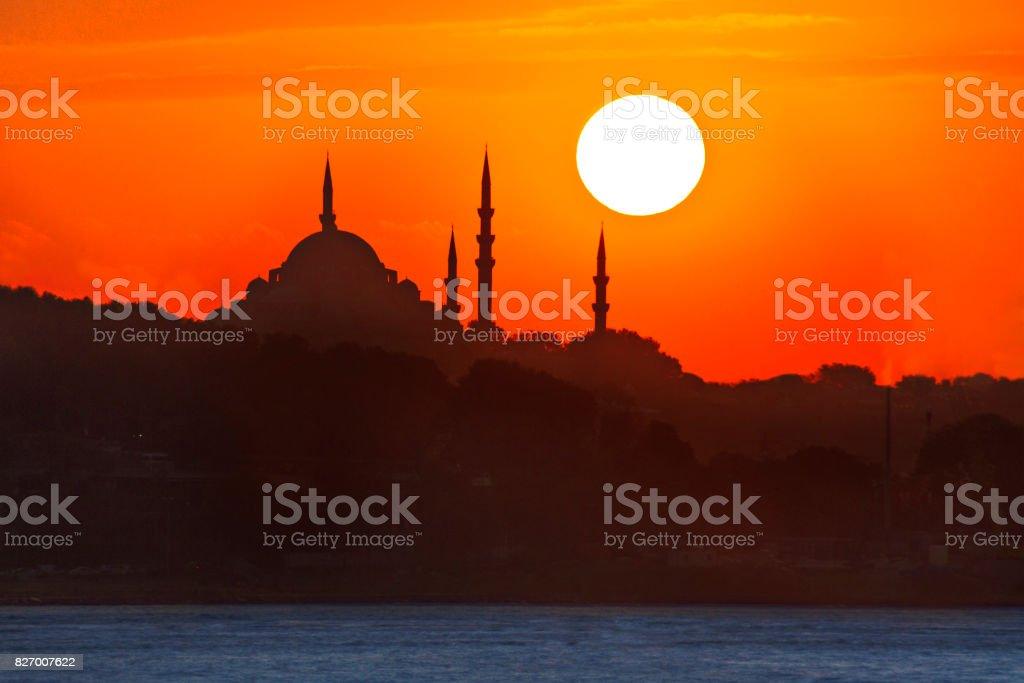 Selimiye Mosque, Konya, Turkey. stock photo