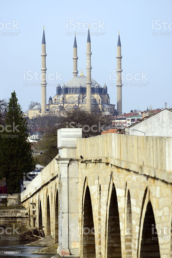 Selimiye Mosque royalty-free stock photo