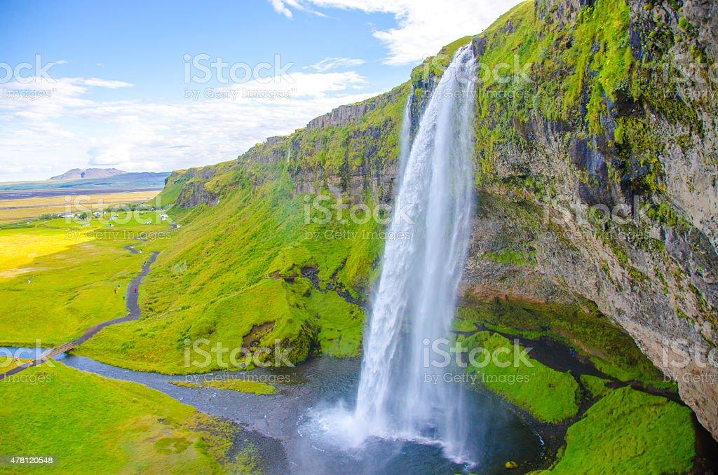 Seljalandsfoss - Iceland stock photo