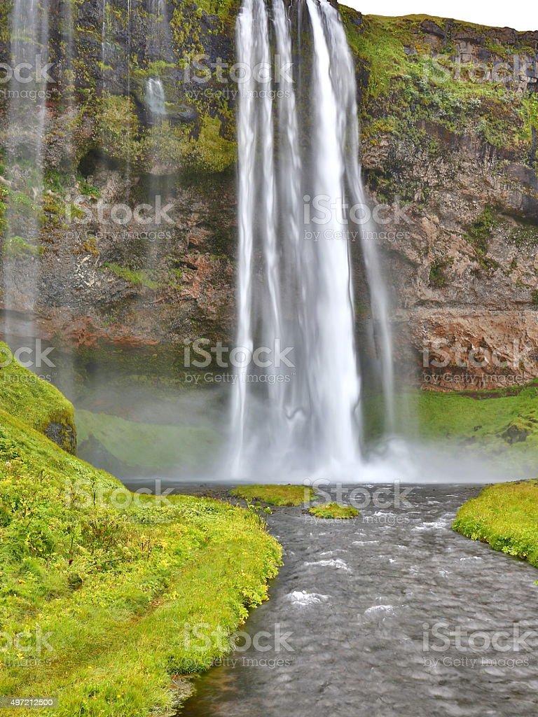 Seljalandsfoss, Iceland stock photo