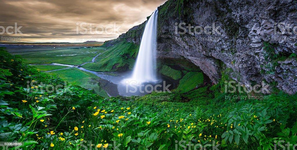 Seljalandsfoss stock photo