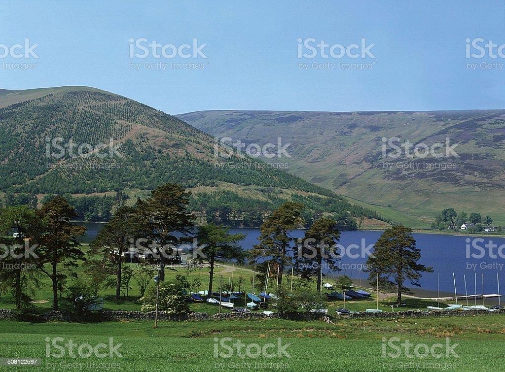 Selkirk Scottish Borders St. Mary's Loch stock photo