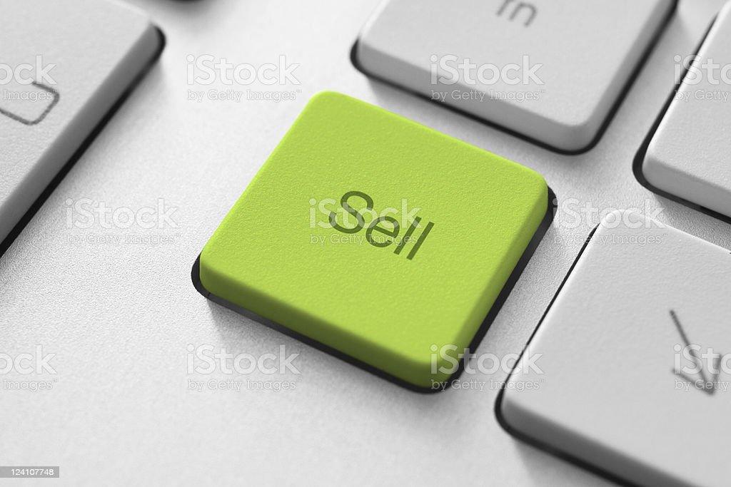 Sell Key royalty-free stock photo