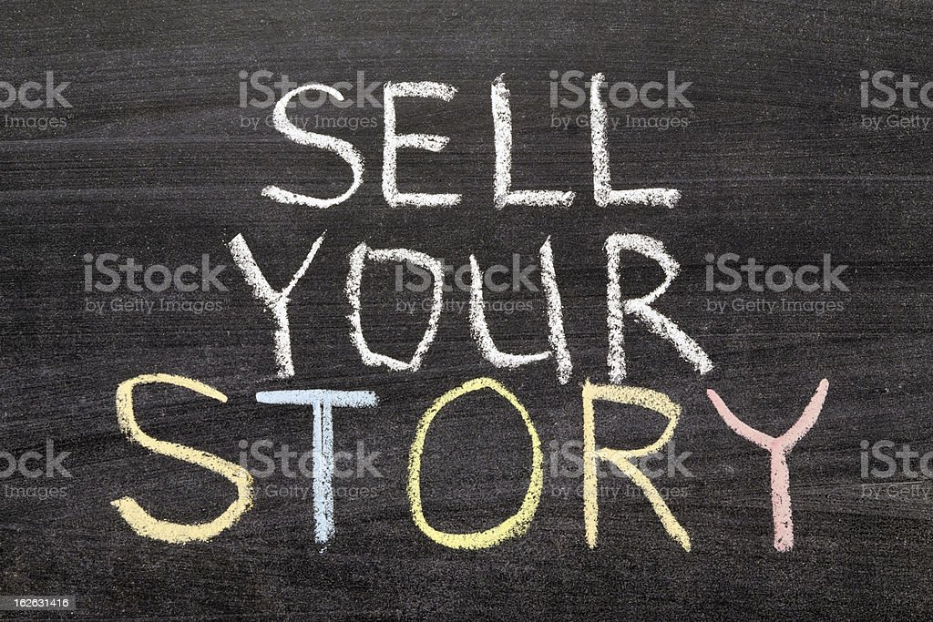 sell your story royalty-free stock photo