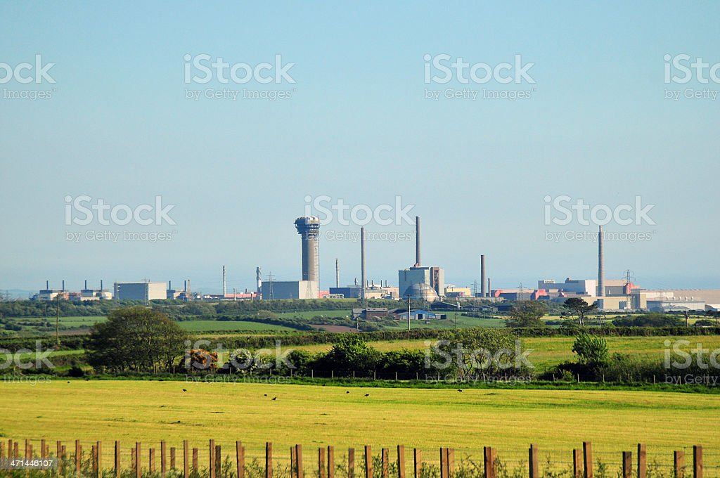 Sellafield, Cumbria royalty-free stock photo
