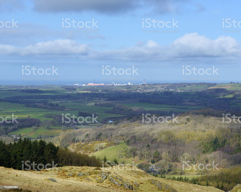 Sellafield Nuclear Processing Plant, Cumbria royalty-free stock photo
