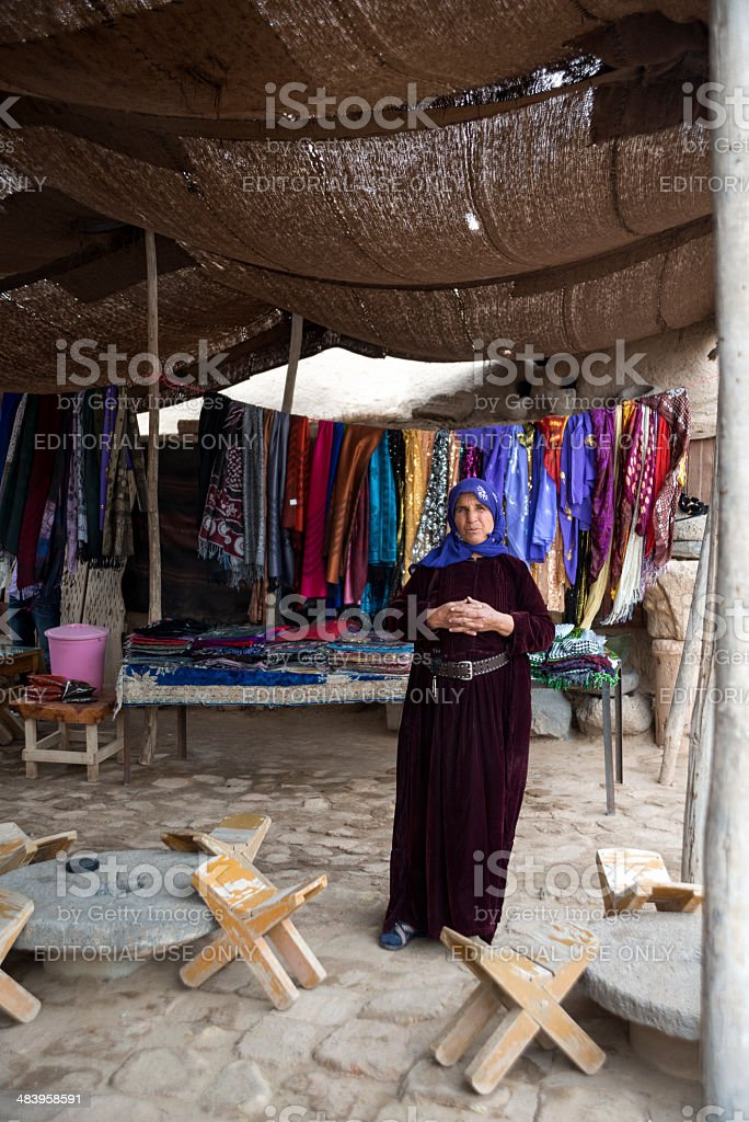 Seller women stock photo
