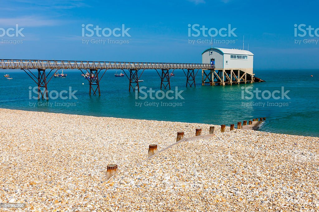 Selsey Bill West Sussex England stock photo