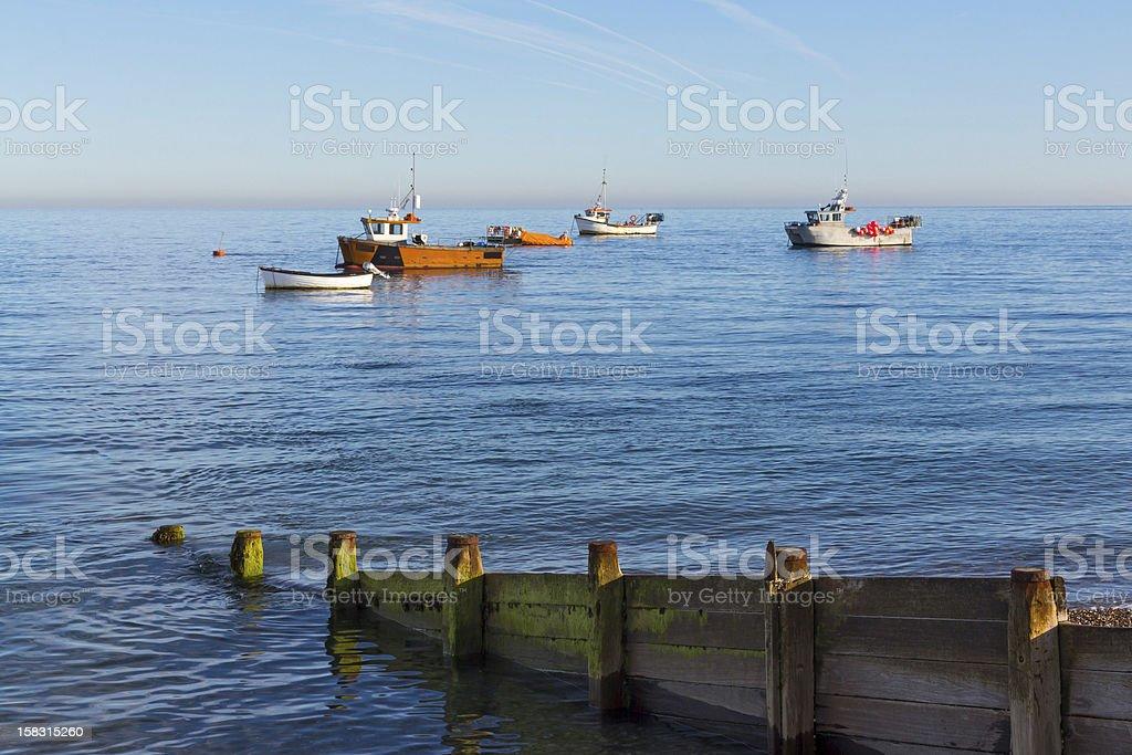 Selsey Bill West Sussex photo libre de droits