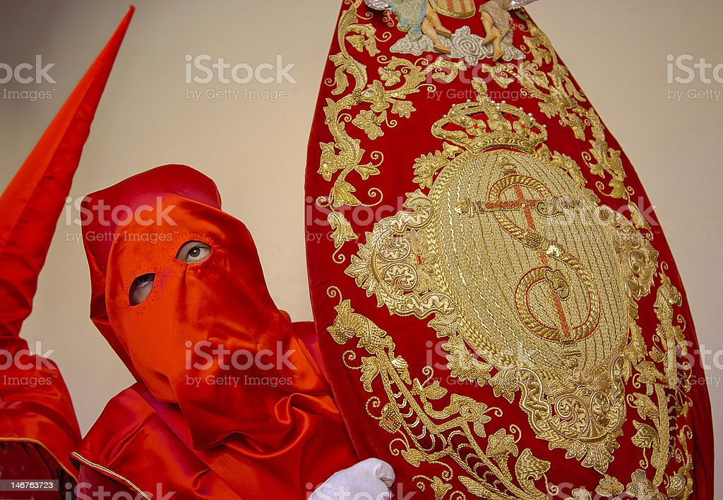Semana Santa in Spain royalty-free stock photo