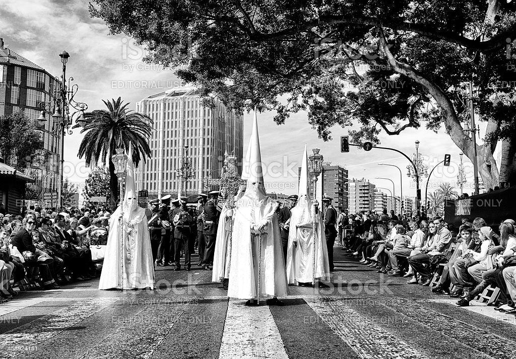 Semana Santa stock photo