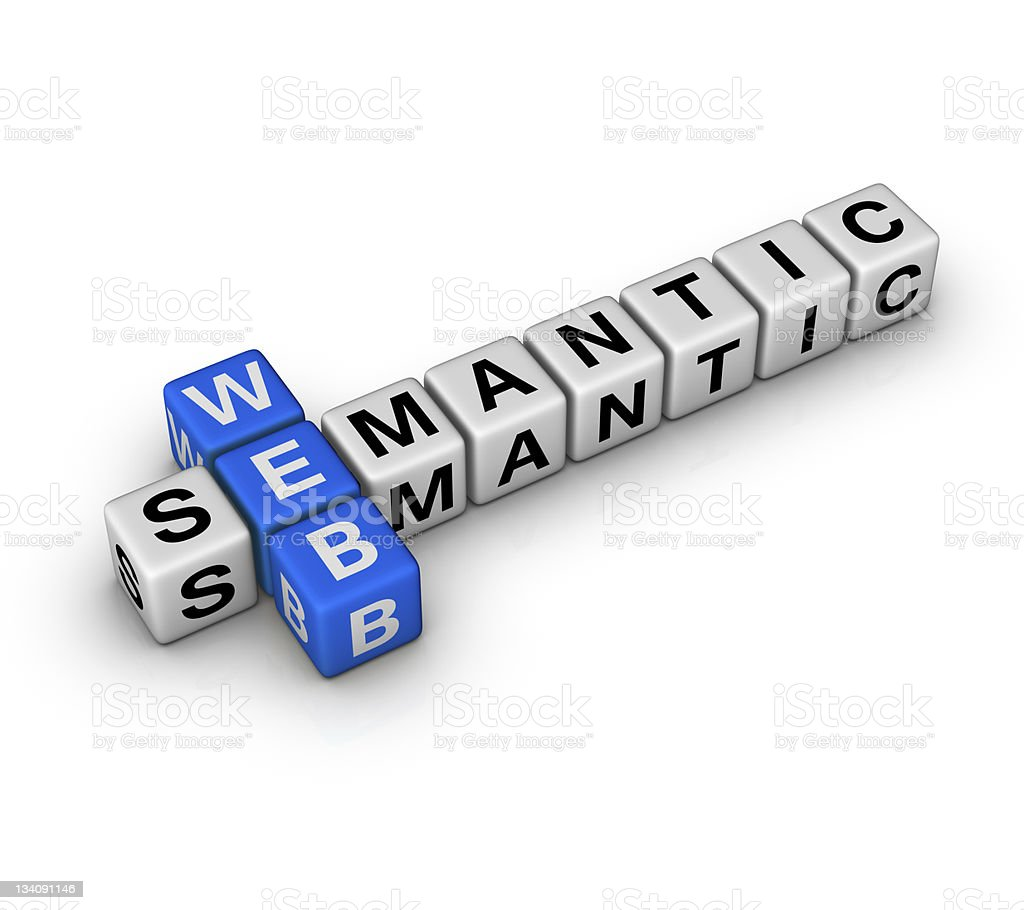 semantic web stock photo