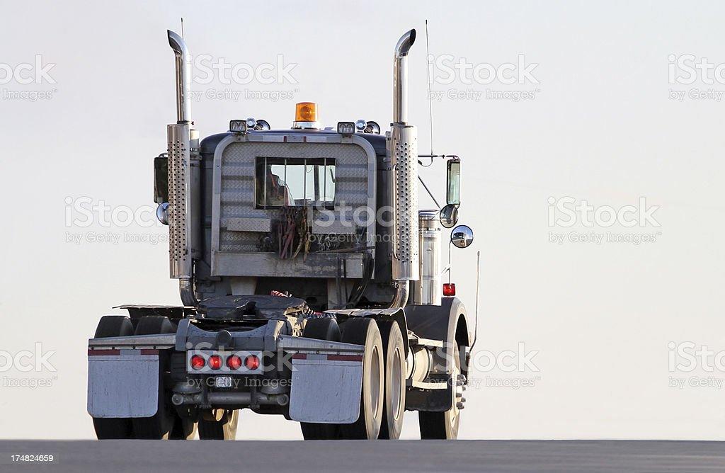 Semi Truck Cab royalty-free stock photo