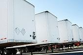 Semi truck trailers