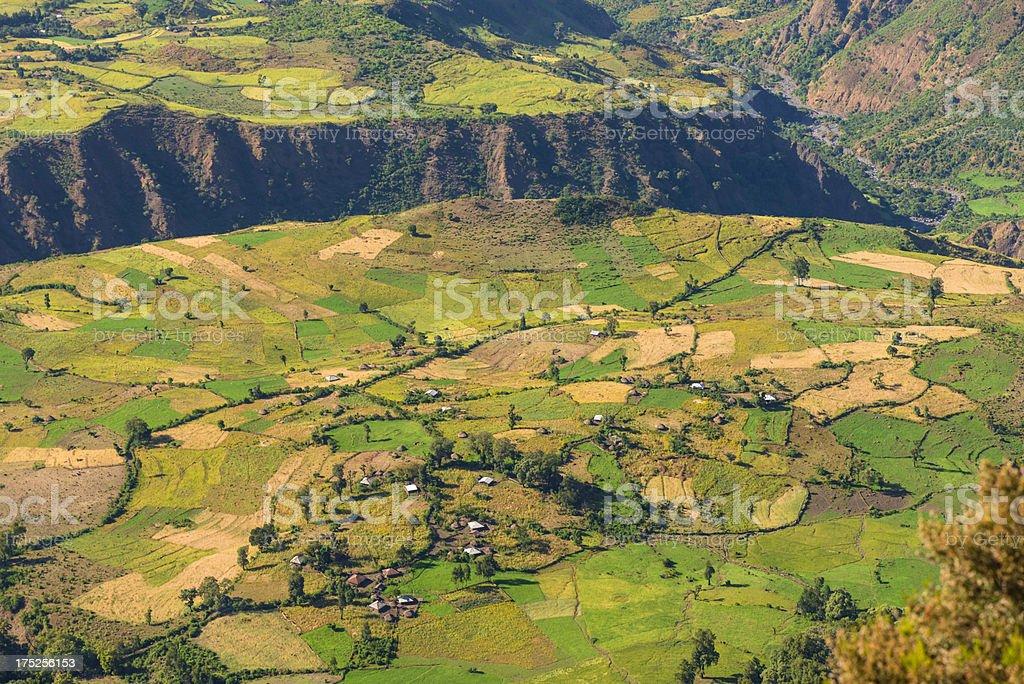 Semien Mountains, Ethiopia royalty-free stock photo