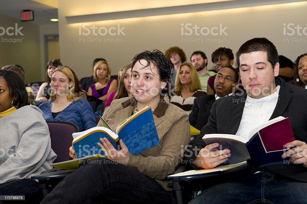 Seminar Attendees royalty-free stock photo