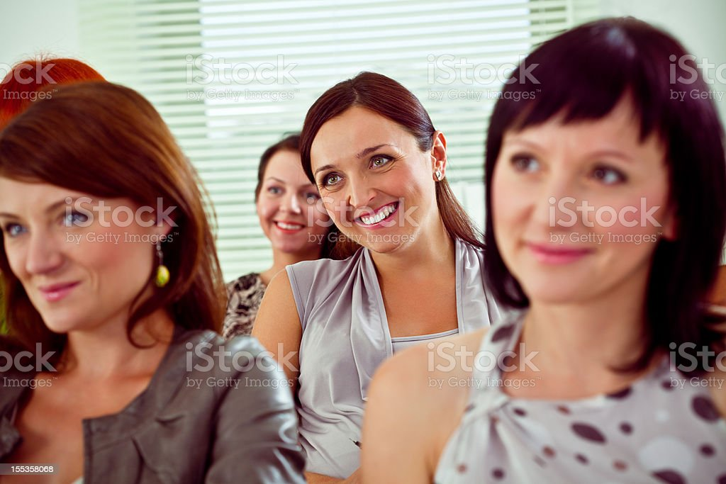 Seminar for women royalty-free stock photo