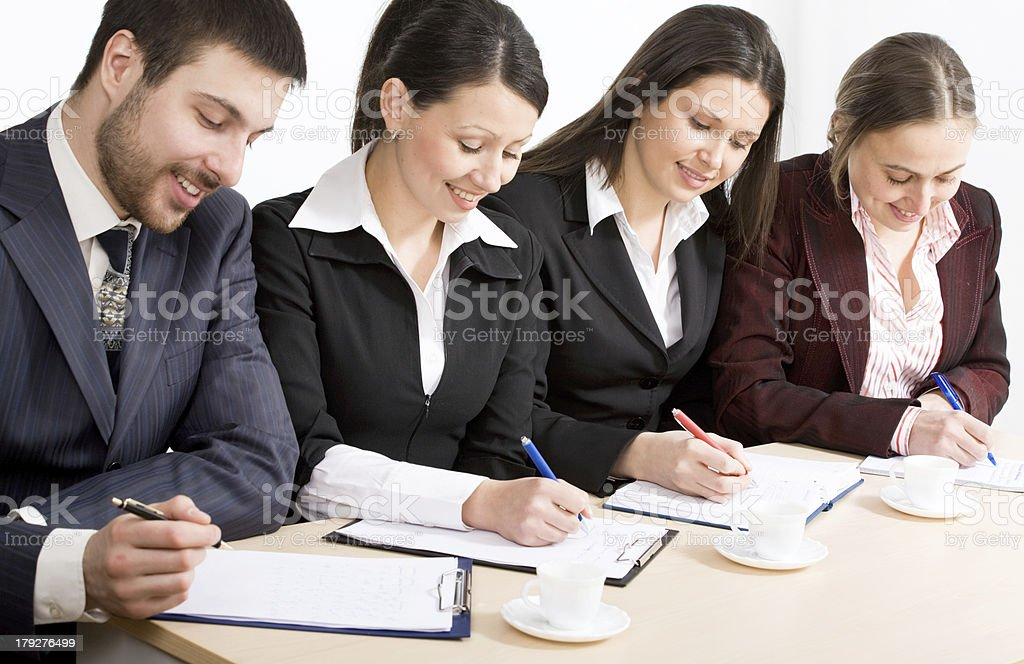 Seminar royalty-free stock photo