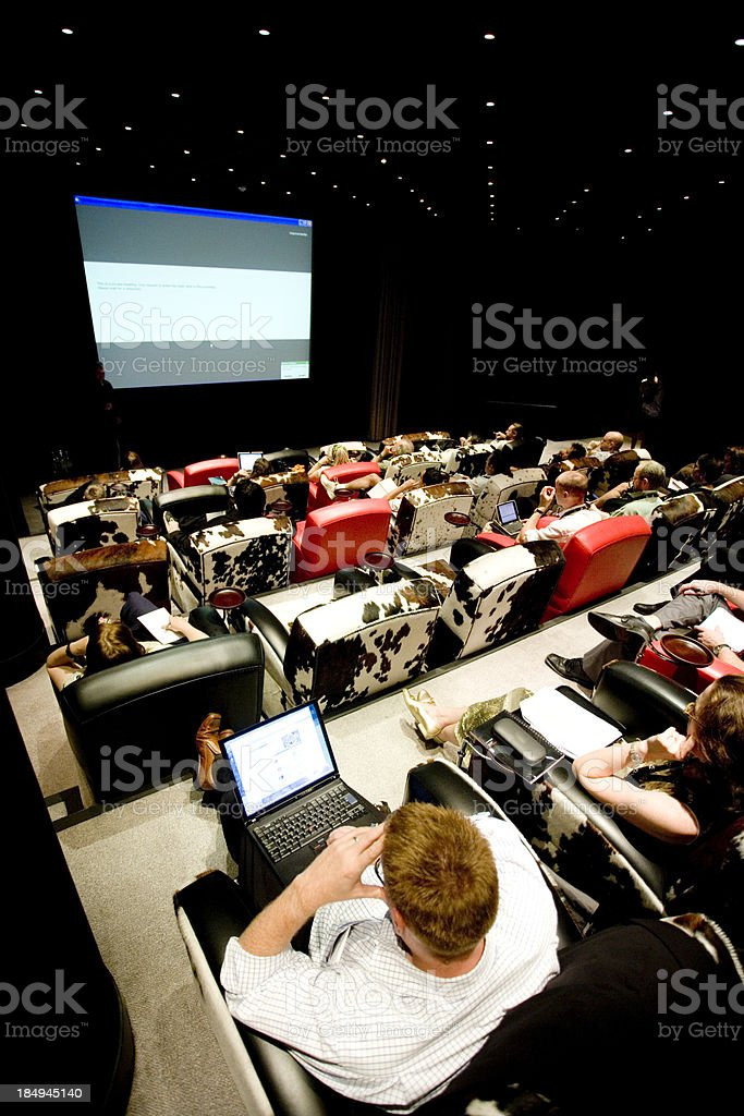 Seminar Presentation royalty-free stock photo