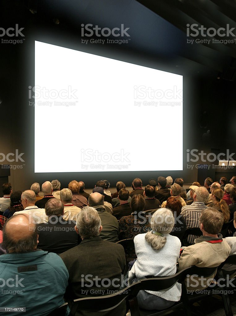 Seminar Vertical royalty-free stock photo