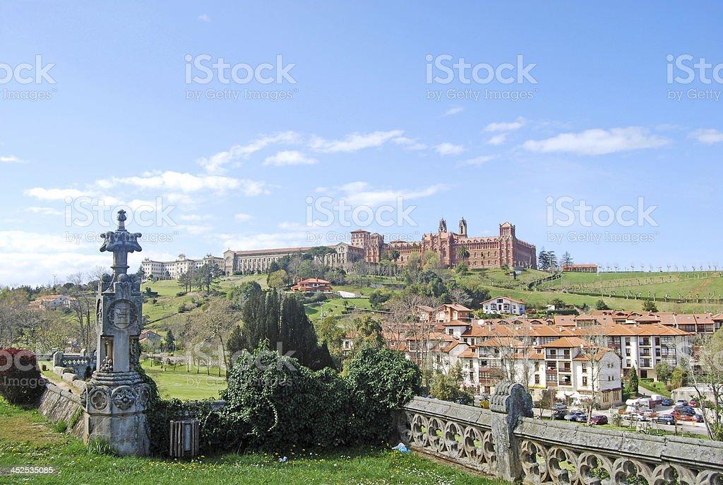 Seminary of Comillas. Cantabria. Spain stock photo