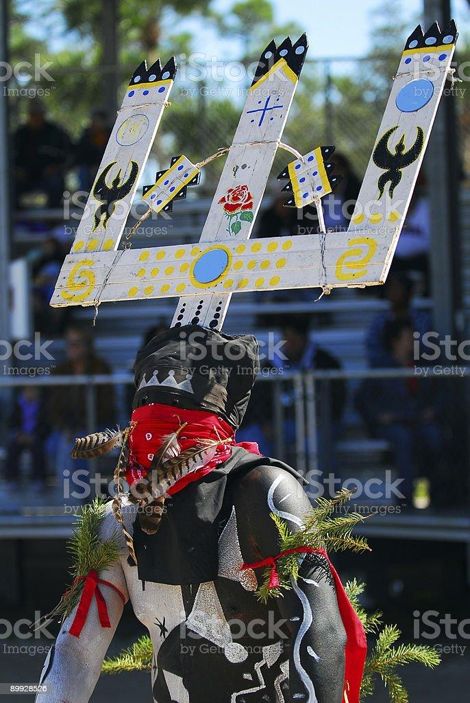 Seminole Dancer stock photo