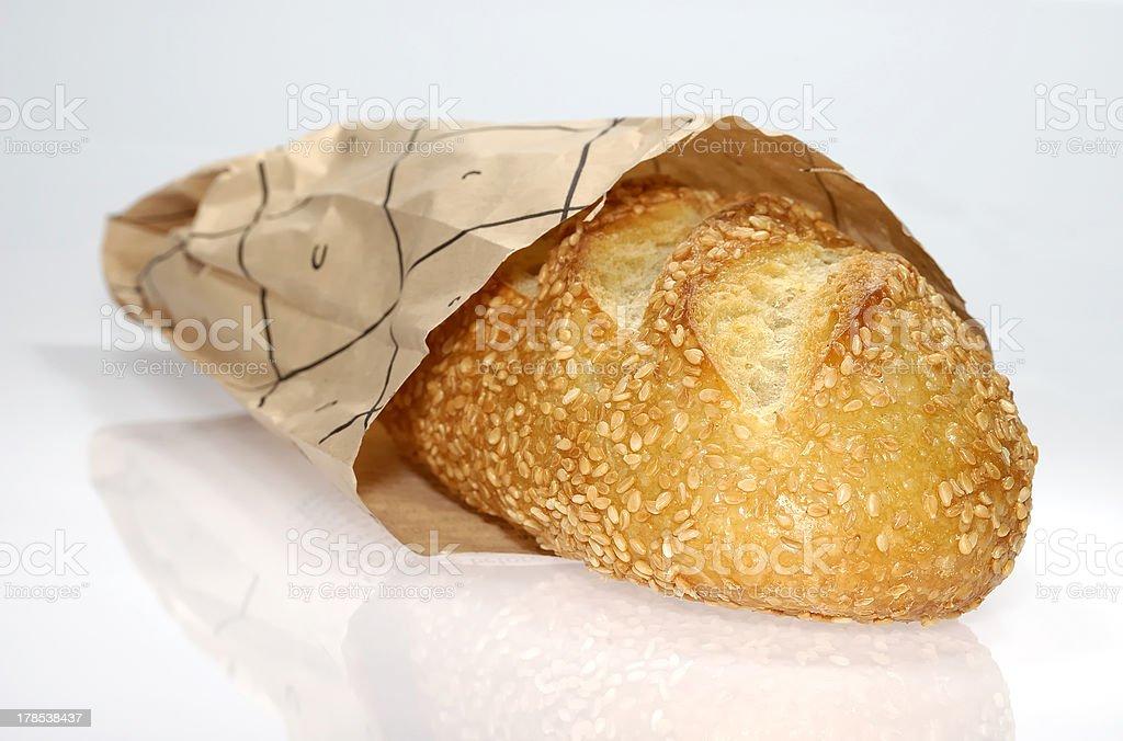 Semolina Bread royalty-free stock photo
