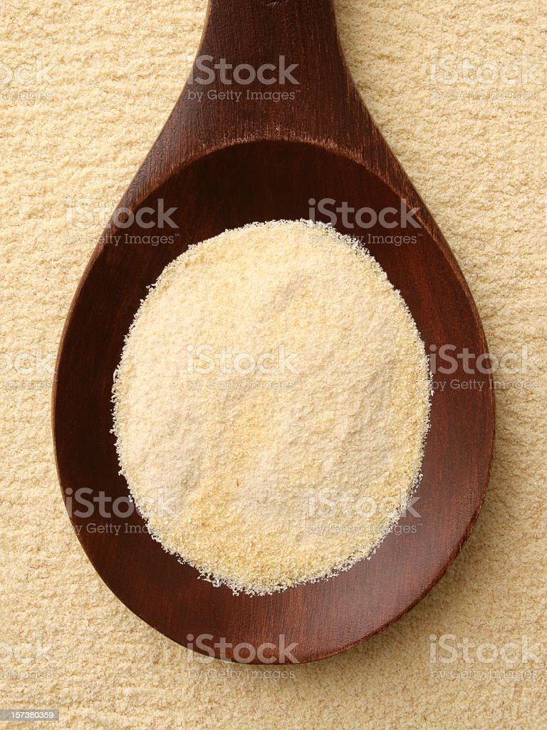 Semolina stock photo
