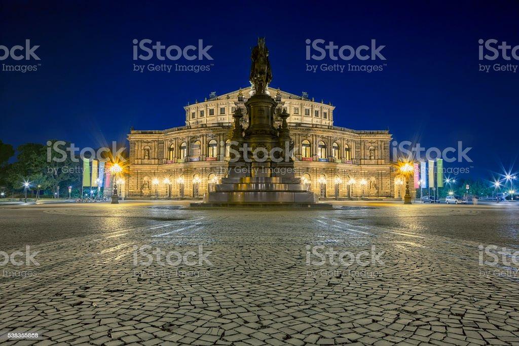 Semper Opera House Dresden, Germany stock photo