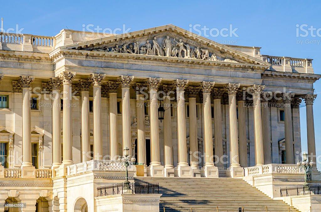 US Senate chambers stock photo