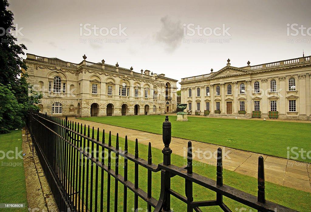 Senate House in Cambridge stock photo