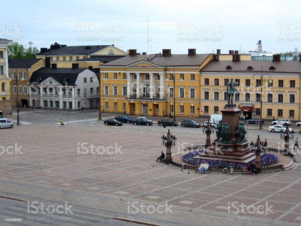 Senate Square, Helsinki stock photo