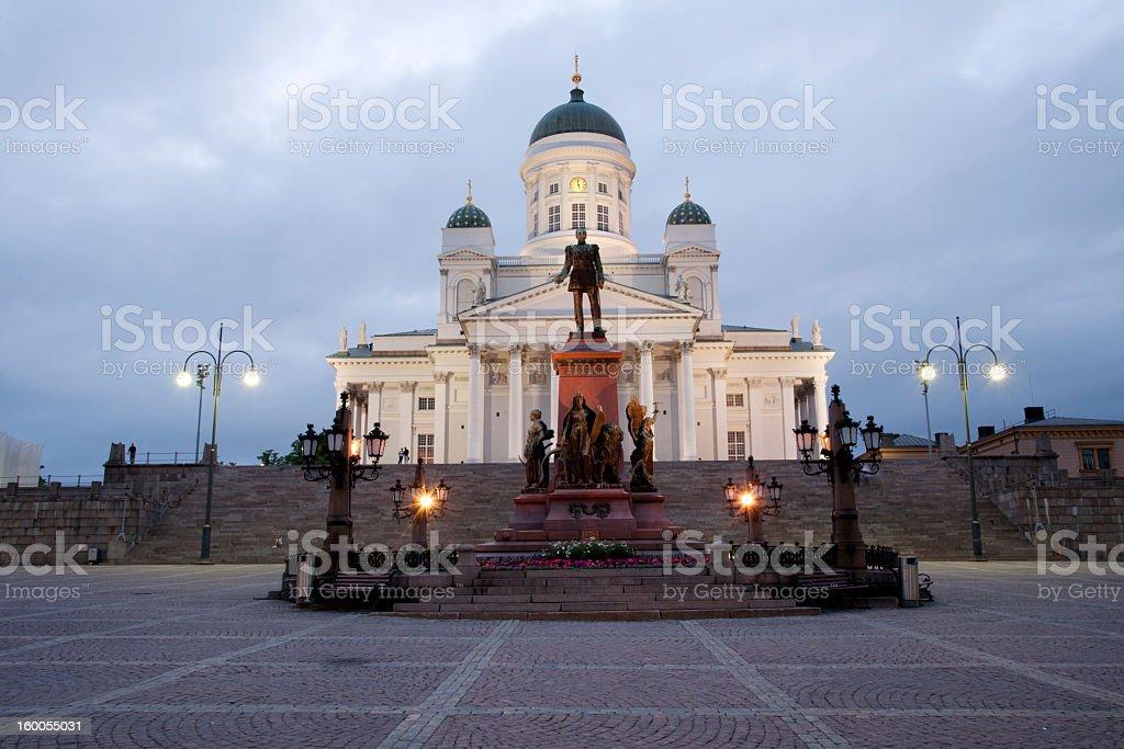 Senate Square stock photo