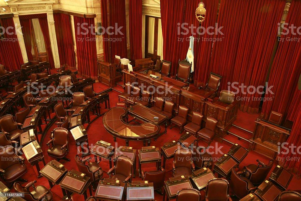 Senators stock photo