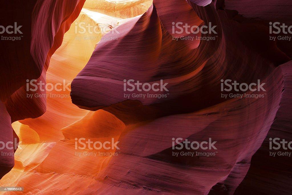 Invia atr di natura colori a contrasto foto stock royalty-free